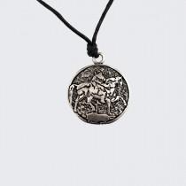 Медальон Мадарският Конник