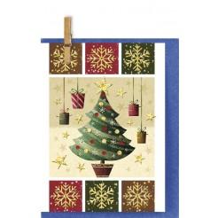 Коледна Картичка Снежинки