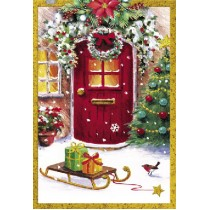 Картичка Бижу Коледна приказка