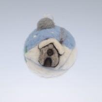 Коледна топка Снежна приказка