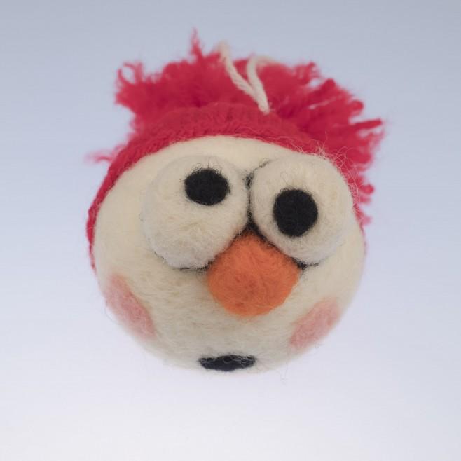 Коледна топка Снежко
