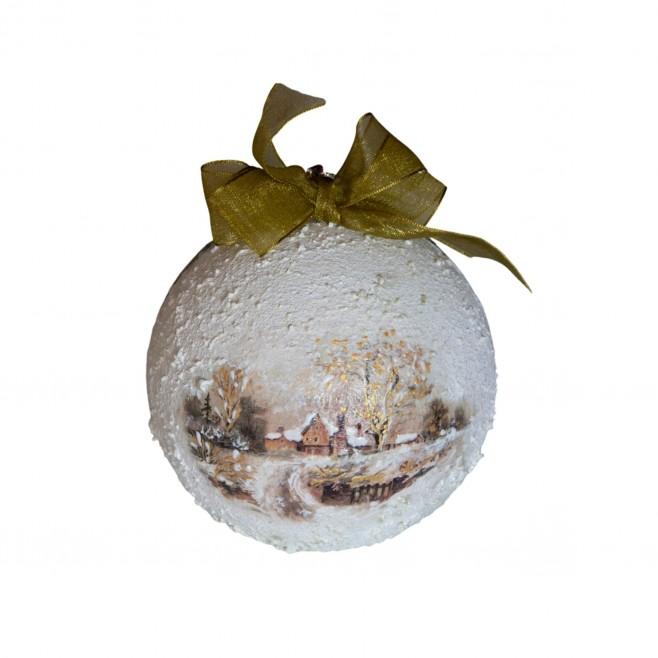 Коледна топка Снежна Фантазия