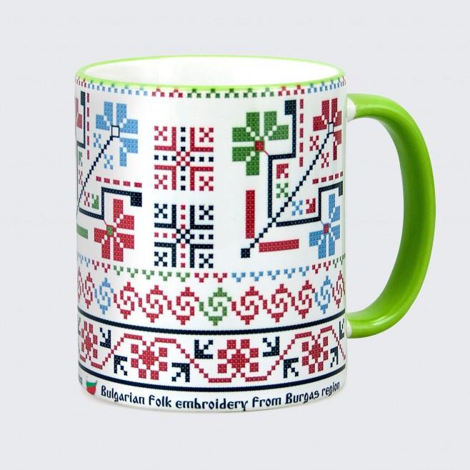 Чаша с Шевица от Бургаски регион • модел 1