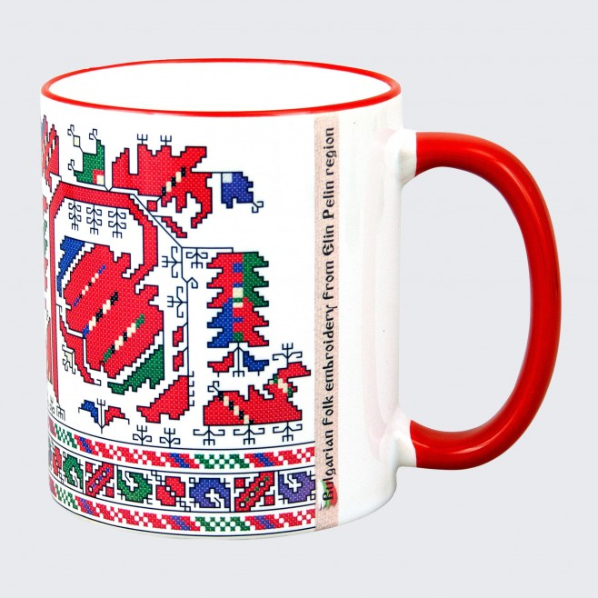 Чаша с Шевица от  Елин Пелинско Ябълките •  модел 1