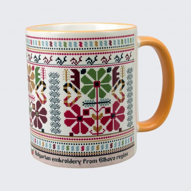Чаша с Шевица от района на Елхово • бяла