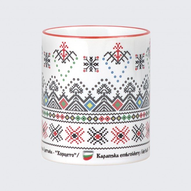 Чаша с Капанска Шевица