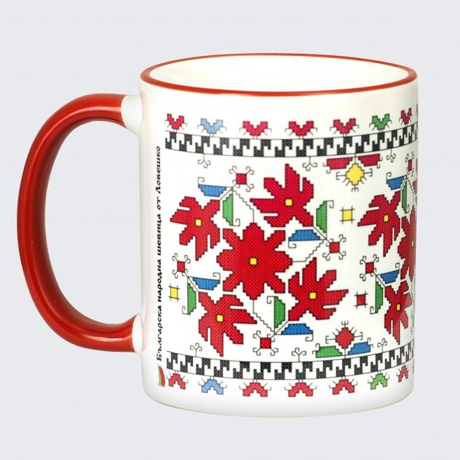 Чаша с Шевица от Ловеч • Благополучие • бяла