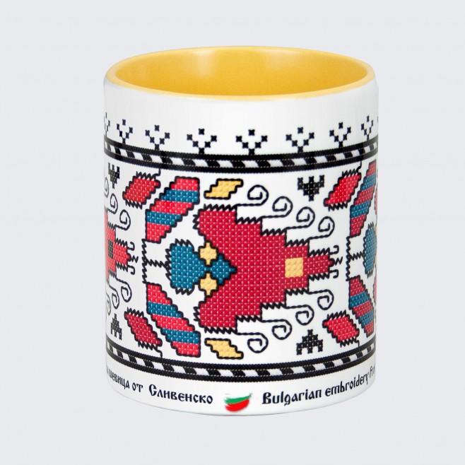 Чаша с Шевица от Сливенско • детайл, модел 1