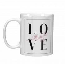Чаша подарък за Свети Валентин LO-VE