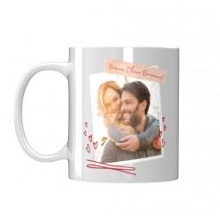 Чаша подарък за Свети Валентин със снимка Ти си Смисълът на моя живот