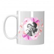 Чаша подарък за Свети Валентин със снимка Ти си моята Слънчева Усмивка