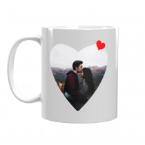Чаша подарък за Свети Валентин със снимка На Моя Съпруг