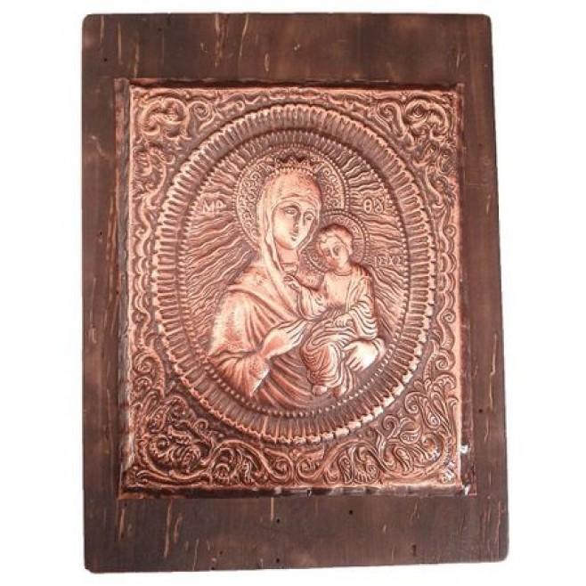 Медна Икона Голяма Богородица