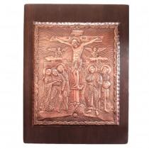 Медна Икона Разпятие Христово