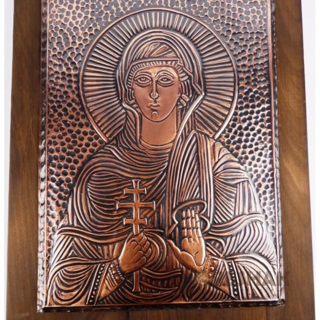 Медна икона Света Петка - Голяма