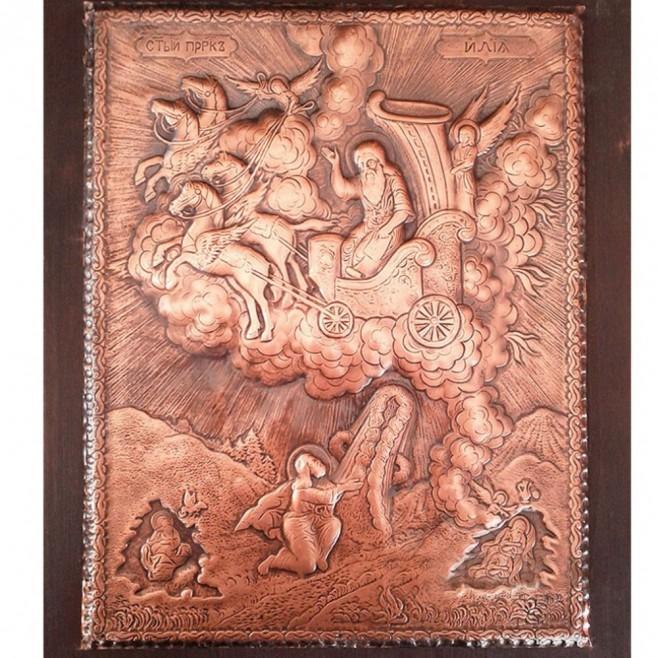 Медна Икона Свети Илия - Голяма, специално издание