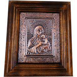 Медна Икона Света Богородица