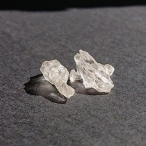 Обеци Хармония с родопски планински кристал - модел 2