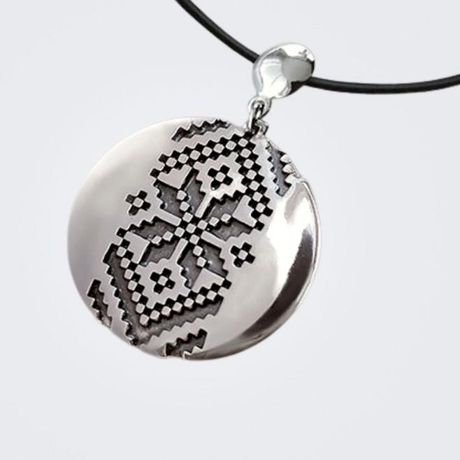 Сребърен медальон Албена