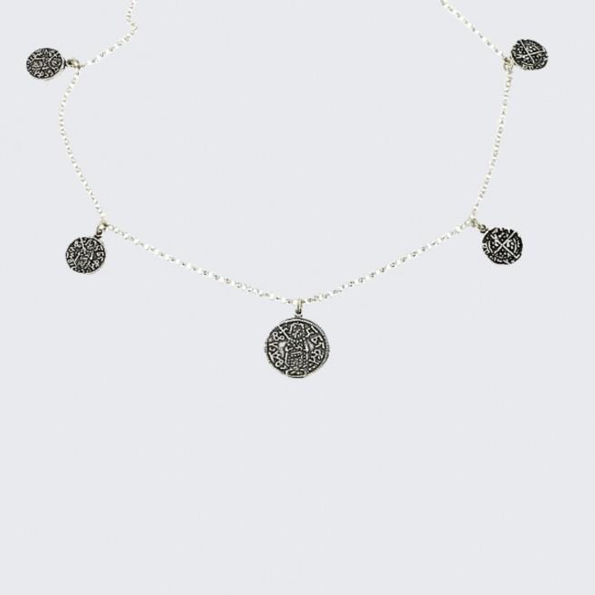 Сребърен комплект Българа - модел 2