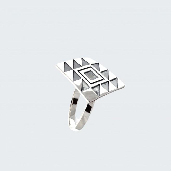 Сребърен пръстен Канатица