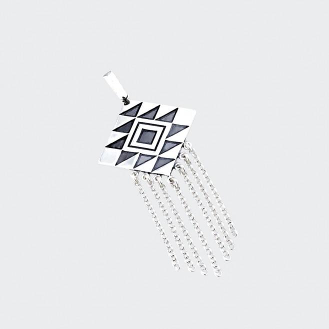 Сребърен медальон Канатица