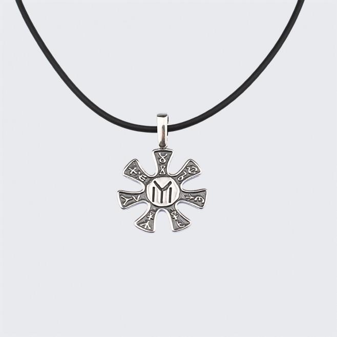 Сребърен Медальон Розетата от Плиска (малък)