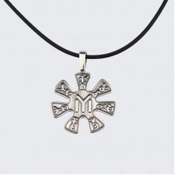 Сребърен Медальон Розетата от Плиска (голям)