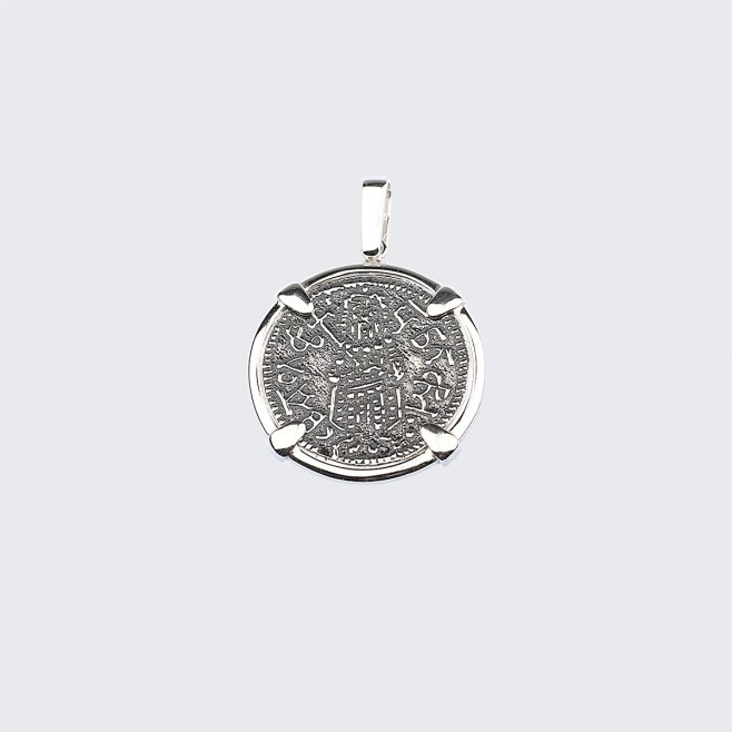 Сребърен медальон Българа