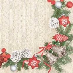 Коледни Салфетки Камбанки