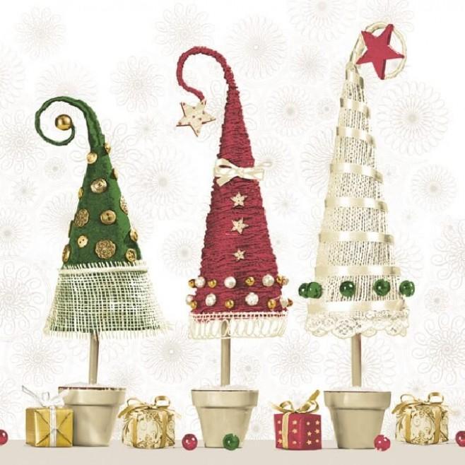Коледни Салфетки Вълшебство