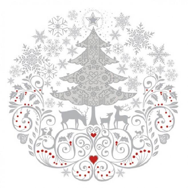 Салфетки Магията на Коледа