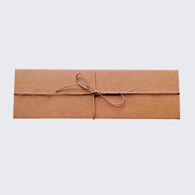 Копринен шал с шевица Анна 160*45