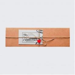 Правоъгълна Кутия за подарък - еко картон