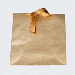 Подаръчна торбичка • златиста