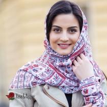 Дамски шал с шевица Анна, 150x50