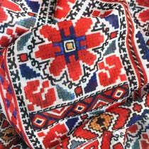 Дамски шал с шевица Донка, шифон 150/50