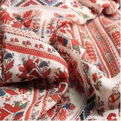 Дамски шал с шевица Живка, 150x50