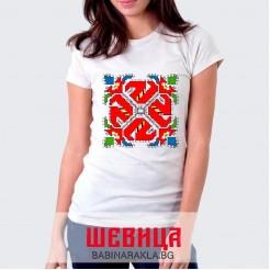 Дамска тениска с шевица, 029