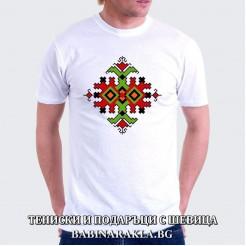 Мъжка тениска с шевица 013