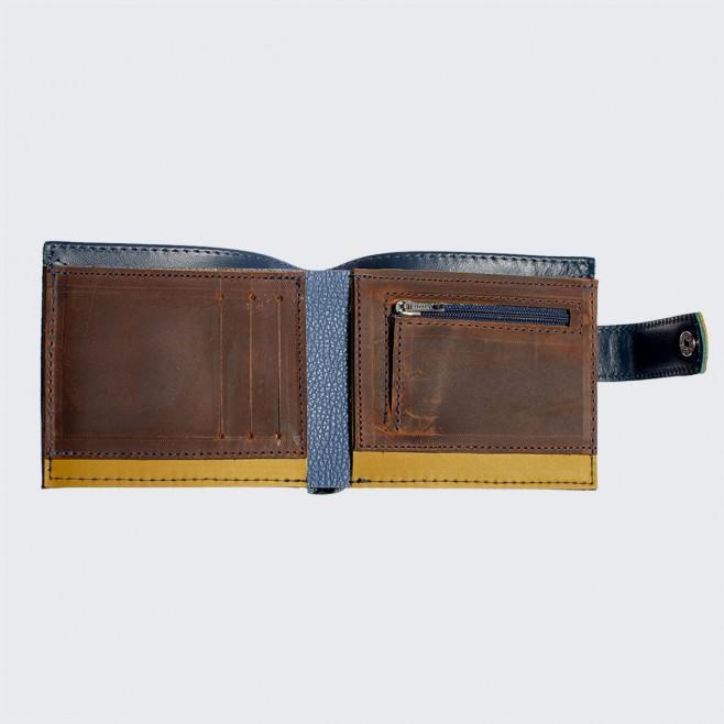 Мъжки портфейл естествена кожа Благоденствие