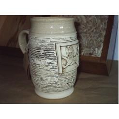 Керамика • Керамична чаша с декорация • модел 5
