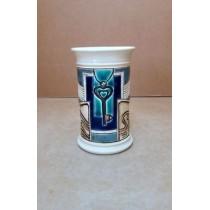 Керамика • Керамична чаша с декорация • модел 8