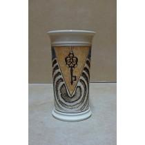 Керамика • Керамична чаша с декорация • модел 10