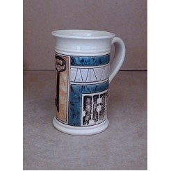 Керамика • Керамична чаша с декорация • модел 16