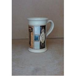 Керамика • Керамична чаша с декорация • модел 20