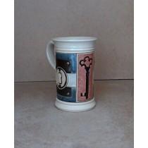 Керамика • Керамична чаша с декорация • модел 27
