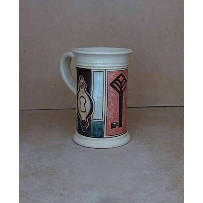 Керамика • Керамична чаша с декорация • модел 30
