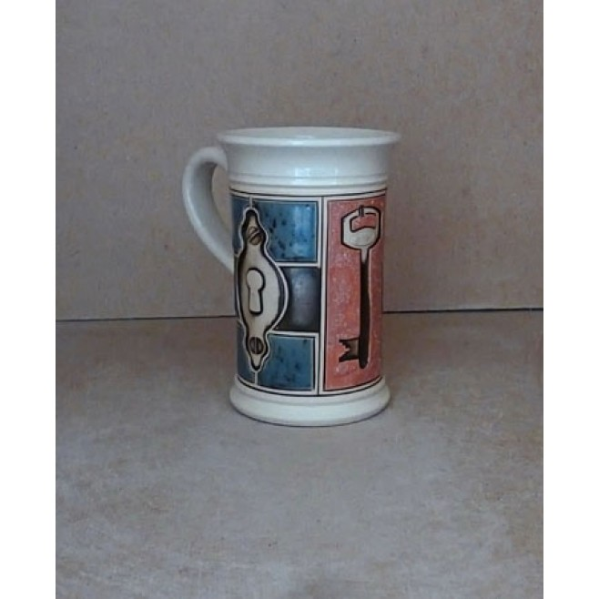 Керамика • Керамична чаша с декорация • модел 33