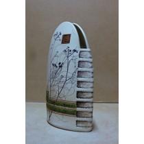 Керамика • Керамична ваза с декорация • модел 1